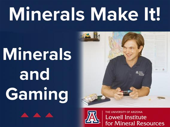 Title page of Minerals and Gaming video