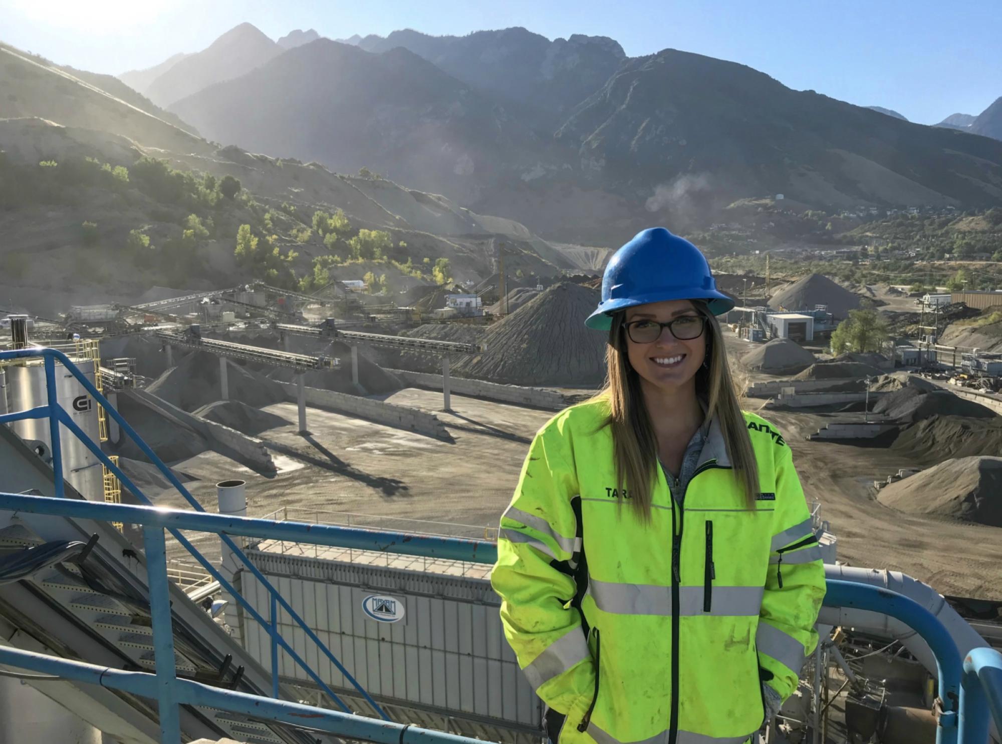 University of Arizona Mining Engineering Alumni at an Aggregate Mine
