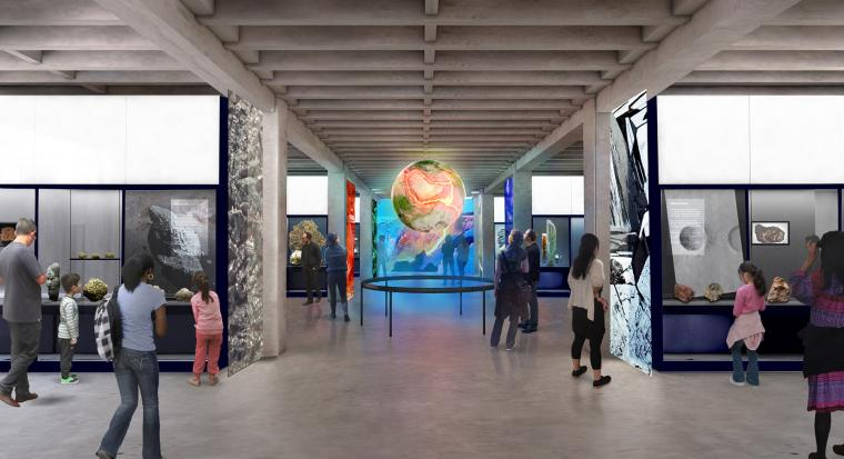 Gem Museum Mineral Evolution Gallery