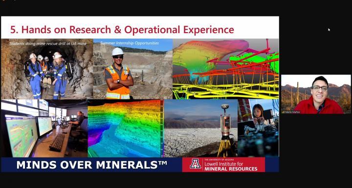 Recruitment outreach virtual presentation